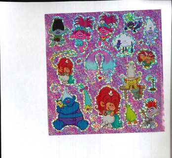 Shiney Troll Stickers # 1