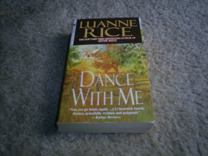 DANCE WITH ME by Luanne Rice, pb