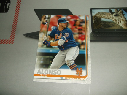 2019 Topps Series 2 PETE ALONSO Rookie Card #475 New York Mets