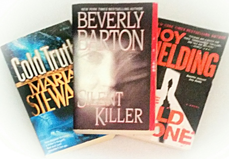 (3 Books!) Silent Killer-Beverly Barton, The Wild Zone-Joy Fielding, Cold Truth-Mariah Stewart