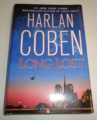 ☆ LONG LOST by Harlan Coben -Hardcover