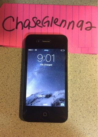 Verizon iPhone 4s 16gb- Black