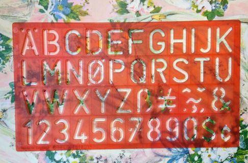 ABC Stencils