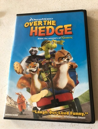Over The Hedge DVD Like New