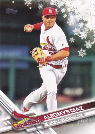 Aledmys Diaz 2017 Topps Holiday St. Louis Cardinals