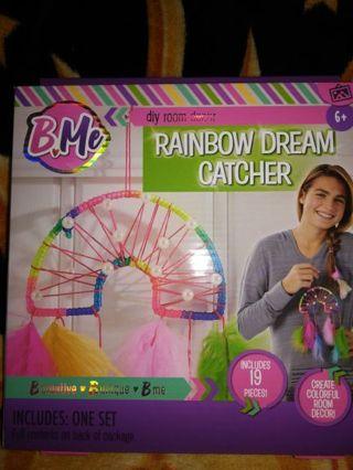 RAINBOW DREAM CATCHER (DIY)=FREE SHIPPING