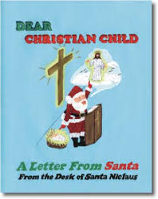Christian Letter From Santa