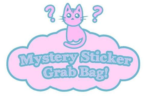 100+ Mystery Stickers Tiered