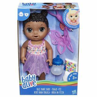 NEW Baby Alive Face Paint Fairy FREE SHIPPING