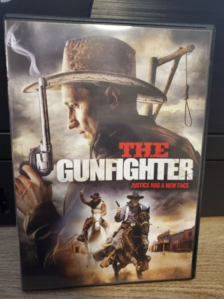 """DVD - """"The Gunfighter"""" - not rated"""
