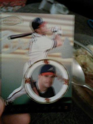Javy Lopez baseball card