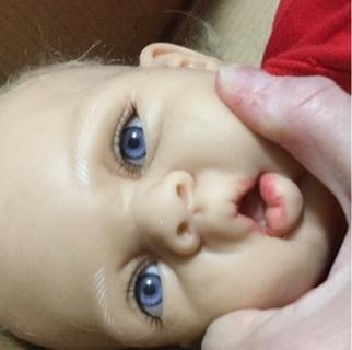 Partial silicone reborn doll needs tlc