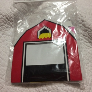 Foam barn picture frame kit