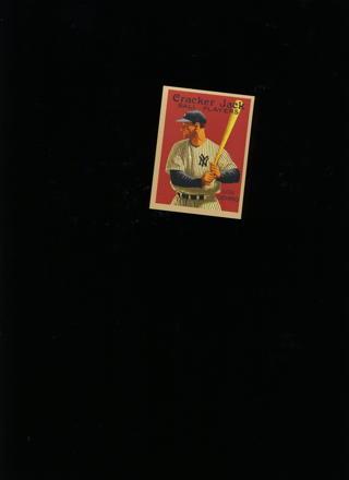 Lou Gehrig  cracker jack card