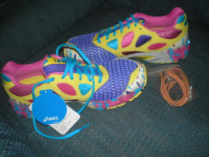 new style a35e8 1f0e5 ... Asics Size 8 1 2 Gel Noosa Tri 7 Women s Running Shoes-Electric Purple  ...