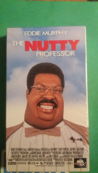 vhs the nutty professor free shipping