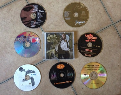 CDs: Beyoncé, Chris Brown, Wyclef, Nelly, Camron