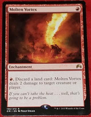 MTG Molten Vortex - Rare 156/272 Origins (ORI) Magic the Gathering trading card (2015)