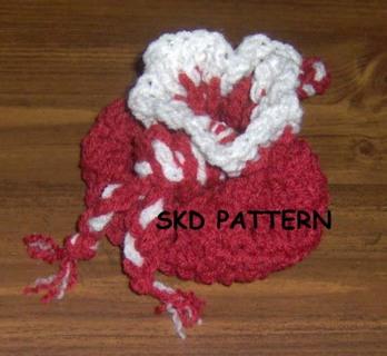 Crochet Wrist Pouch or Goodie Bag Pattern (pdf)