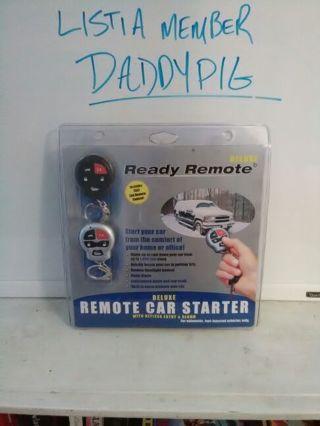 Remote car starter w/ keyless entry & alarm