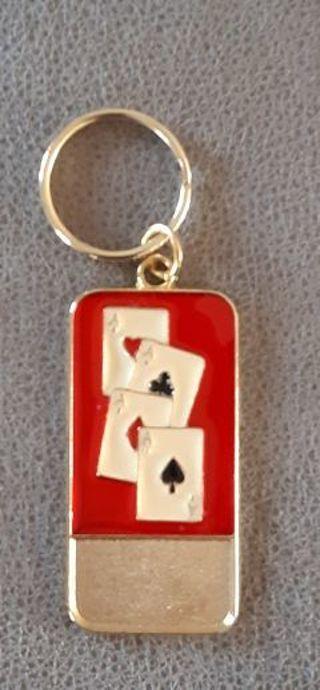 A's Wild Keychain