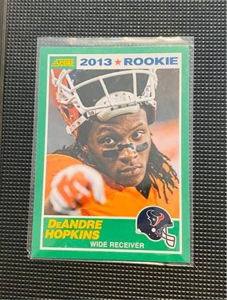 2013 Score DeAndre Hopkins RC