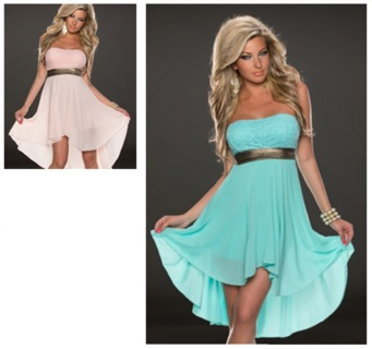 Womens Size S/M Dress Pink or Blue (Chose One)