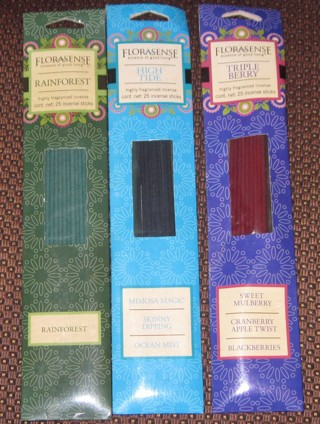 NEW LOT 3 Pack Florasense Incense Sticks 75 Sticks