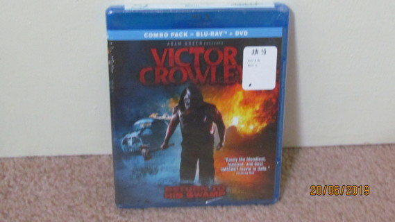 Victor Crawley Blu-Ray, NEW in Package