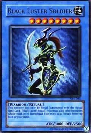 Black Luster Soldier SYE-024 - Ultra Rare 1st Edition Starter Deck Yugioh Cards Evolution [SYE] 1st