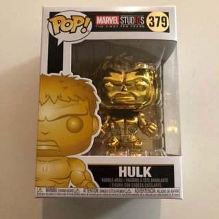 Funko Pop # 379 Gold Hulk