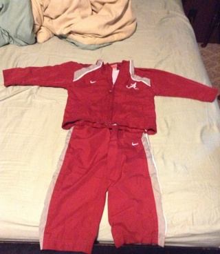 03d06d735b69 Free  Nike alabama windbreaker suit - Baby Clothes - Listia.com ...