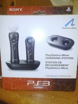 JUST IN TIME FOR CHRISTMAS! Playstation move charging station. Low starting bid.