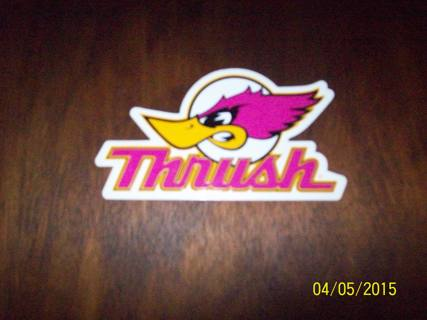 Free: Thrush Exhaust Sticker With Free Shipping - Other Car Items