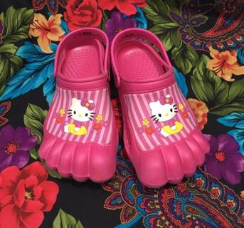 Hello Kitty CHILDREN'S KIDS HELLO KITTY SLIPPER SHOES SPRING SUMMER WATER BEACH FREE SHIPPING