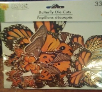 Brand New- 33 Butterfly Die Cuts