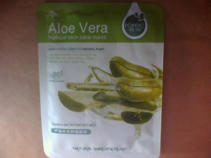 Aloe Vera care mask