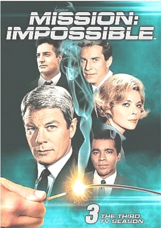 Mission: Impossible - The Complete Third Season (DVD, 7-Disc) FREE SHIPPING
