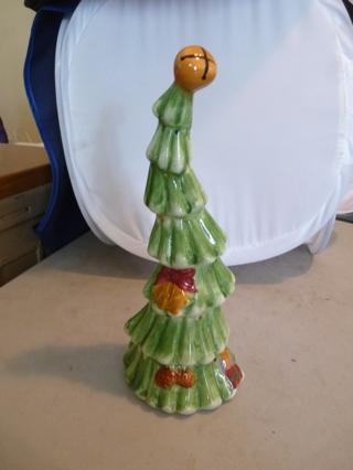 Free Ceramic Crooked Christmas Tree Looks Like It Belongs