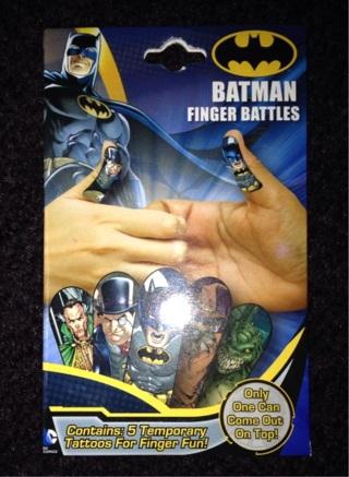 BATMAN  FINGER  BATTLES