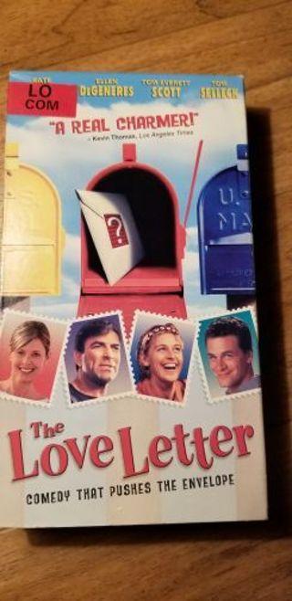 Love letter VHS