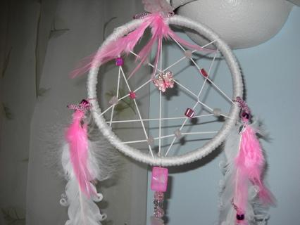 Cotton Candy Colors Dream Catcher