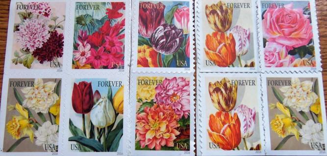 10 Unused Forever Stamps,10-4x6 Poly Envelopes,10-1x3 Fragile Labels