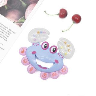 Kids Baby Crab Design Handbell Musical Instrument Jingle Shaking Rattle Toys Hot