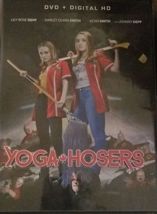 Yoga Hosers Digital Code BRAND NEW! NEVER USED! Johnny Depp Kevin Smith Lily-Rose Depp