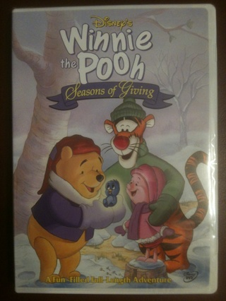Disney's Winnie the Pooh New Unopened DVD Lot