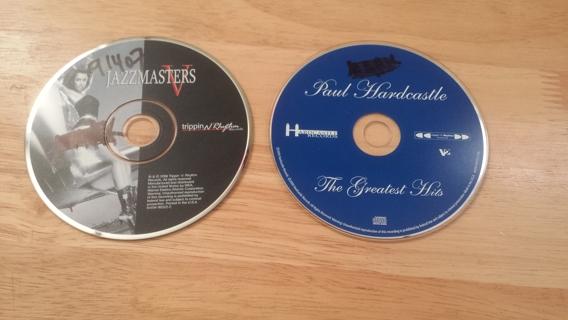 2 PAUL HARDCASTLE CD'S - JAZZ