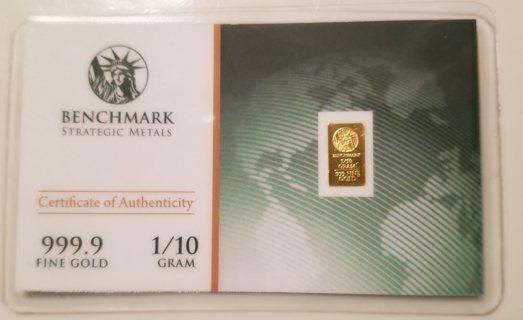 Benchmark Mini Gold Bar