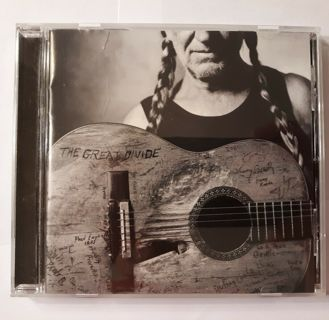 cd-willie nelson-the great divide-2002-used-ex-lost highway