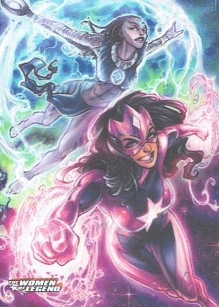 DC Comics 2013 The Women Of Legend Collectible Trading Card Indigo & Star Sapphire #60